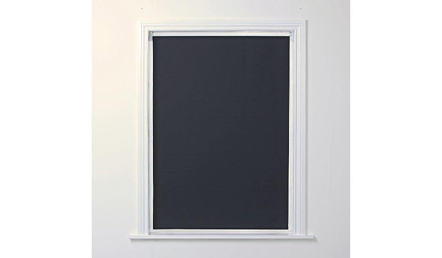 Blackout Roller Blind - Black