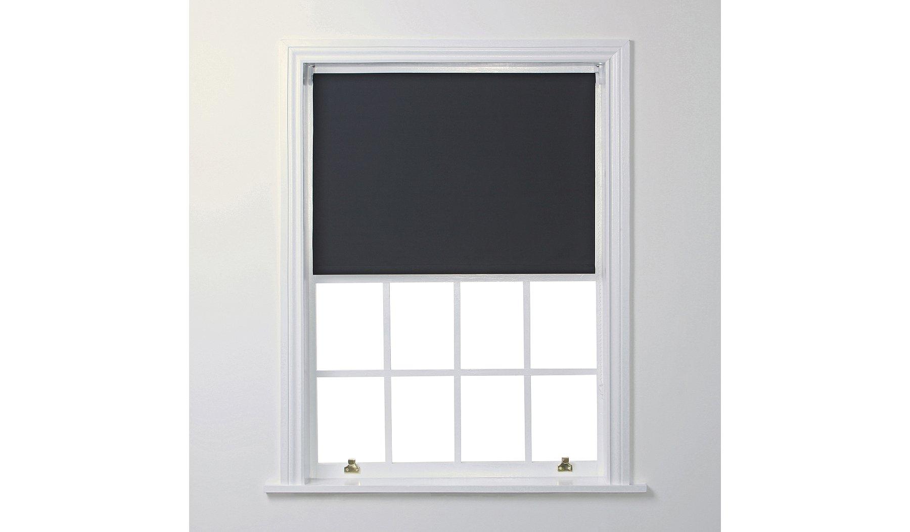 Blackout Roller Blind - Black | Home & Garden | George
