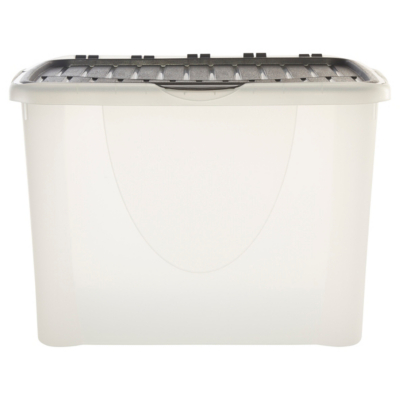 Charming Food Storage Containers Asda Part - 11: ASDA Flip Lid Storage Box - 60L