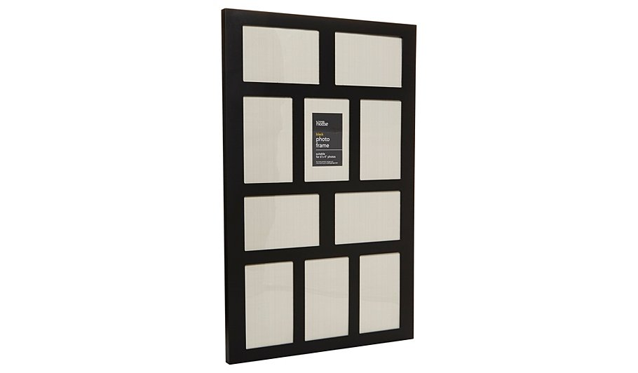George Home Black Multi Aperture Frame | Home & Garden | George at ASDA