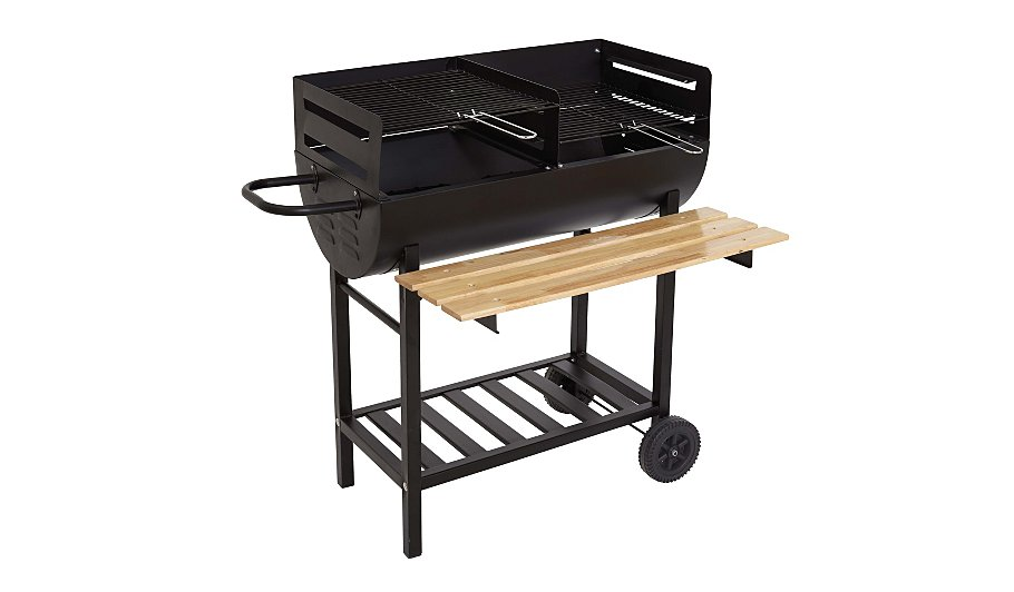 the twin grill wagon barbecue home garden george at asda