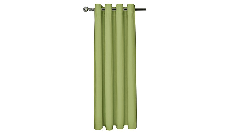 George Home Green Eyelet Curtains   Curtains & Blinds   George at ASDA