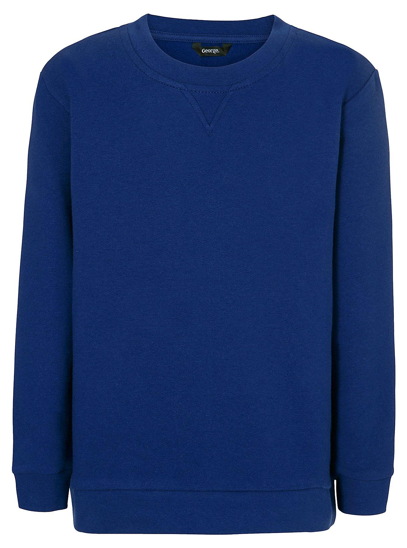 Cobalt Blue School Sweatshirt | School | George