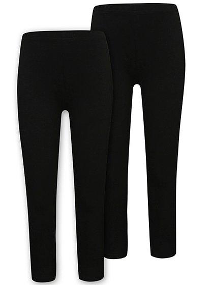 Black Leggings For Girls - Hardon Clothes-8027