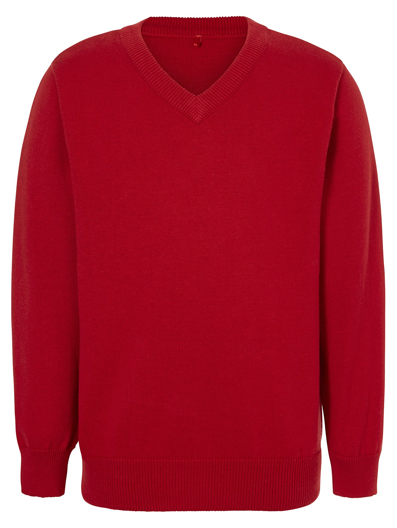 pretty nice discount collection famous brand Red V-Neck School Jumper