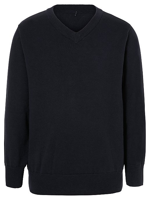 price reduced top-rated latest sale online Navy V-Neck School Jumper
