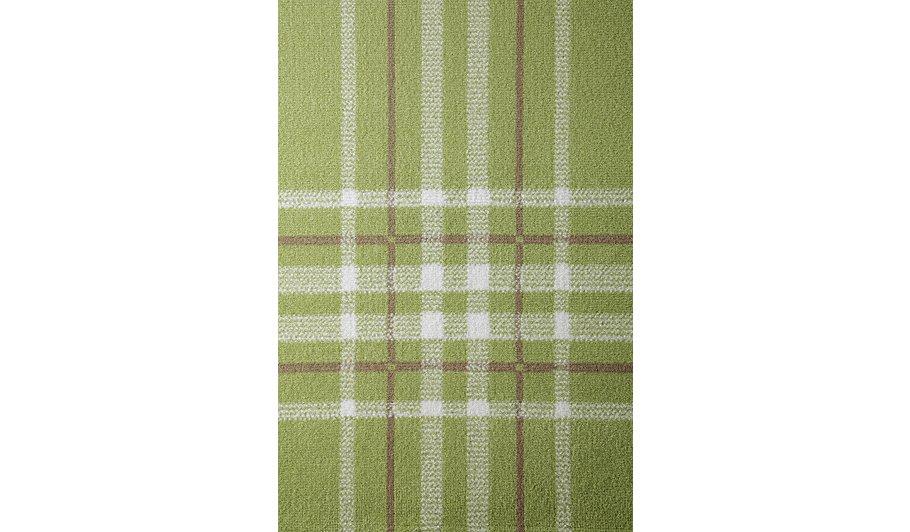 Homemaker Check Rug Green 160 X 230cm
