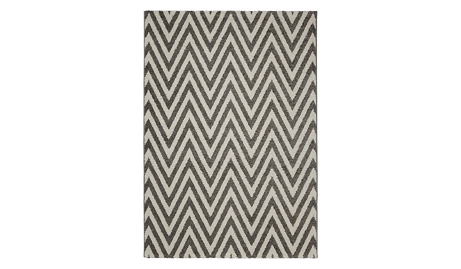 Homemaker Grey Chevron Rug Hide Details
