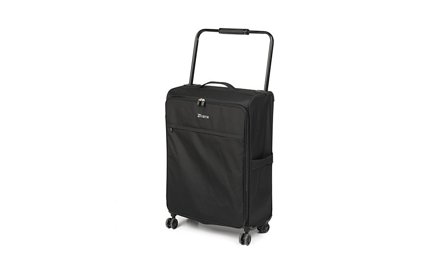 Z Frame 26 Inch Double Wheel - Black Suitcase | Home & Garden | George