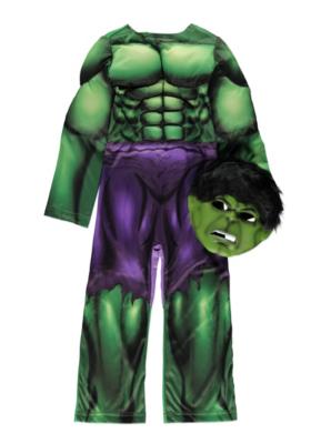 sc 1 st  George - Asda & Hulk Fancy Dress Costume | Boys | George at ASDA