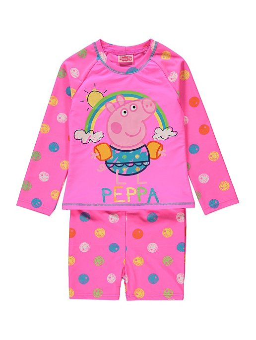 4122d7ab7d 2 Piece Peppa Pig Swim Set. Reset