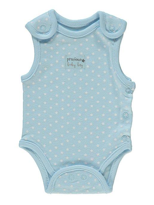 fc0be277f7fb Blue Premature Baby Bodysuit 3 Pack