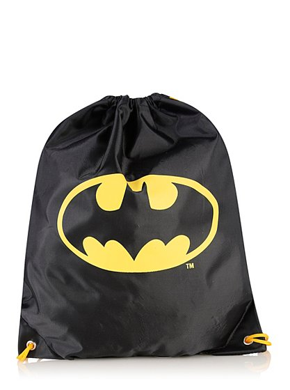 Batman Drawstring Bag   Boys   George at ASDA