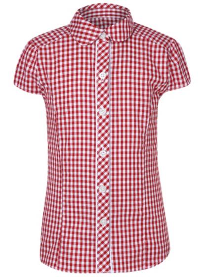 Red Gingham Shirt Women