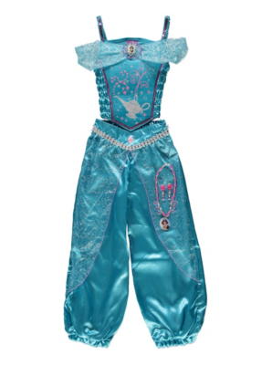sc 1 st  George - Asda & Disney Light-up Jasmine Fancy Dress Costume | Girls | George at ASDA