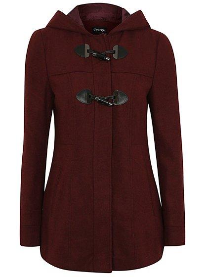 Toggle Duffle Coat | Women | George at ASDA