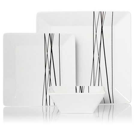 George Home White Moda Tableware Range