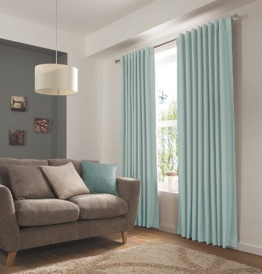 Duck Egg Blue Home Eyelet Curtains Blinds George At Asda