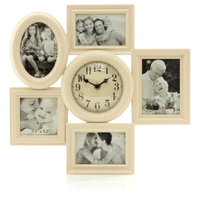Vintage Photo Frame Clock
