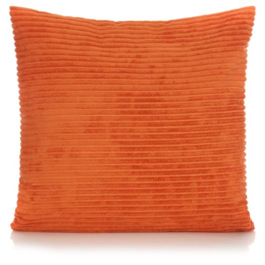 George Home Jumbo Cord Cushion 50x50cm Orange
