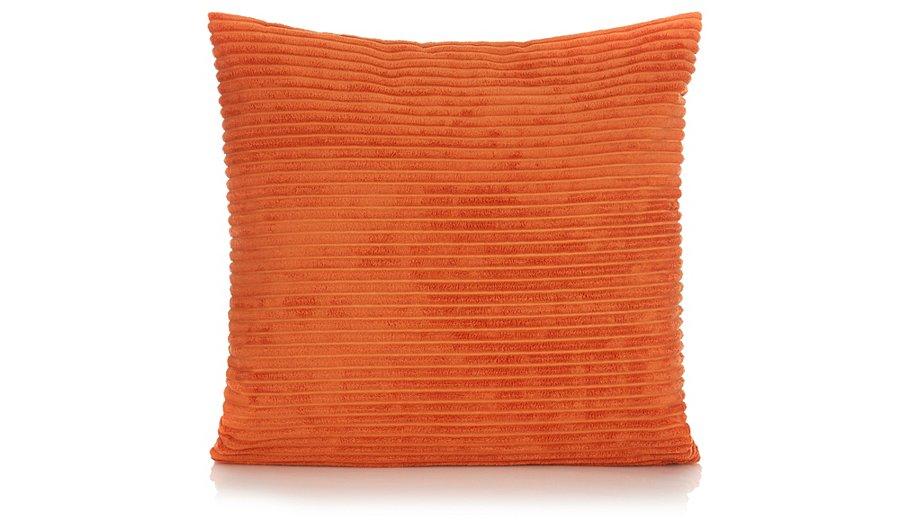 George Home Jumbo Cord Cushion 50x50cm Orange Home