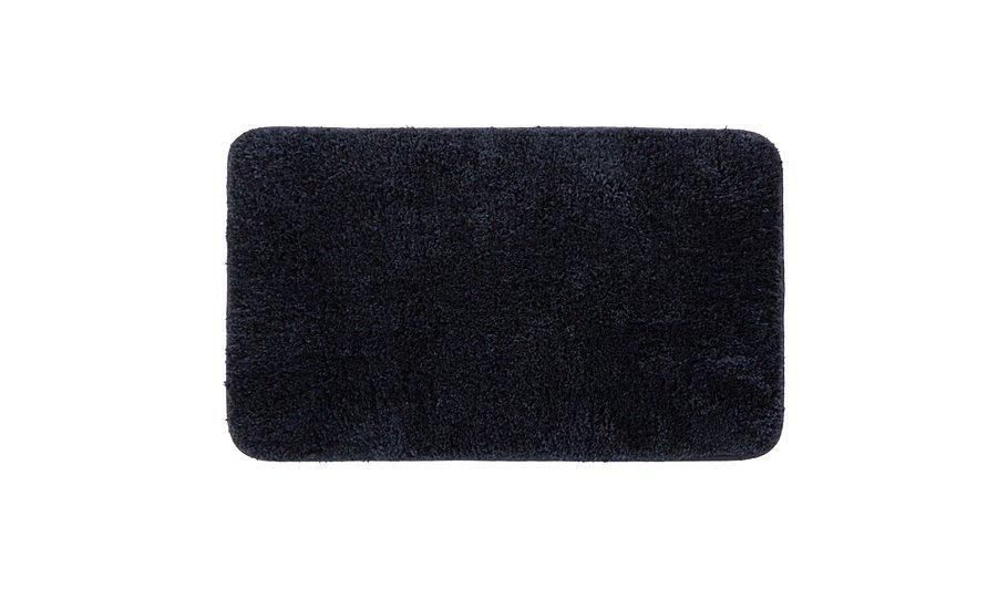 Microfibre Rubber Backed Bath Mat - Black | Home & Garden | George