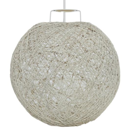 george home cream string pendant light shade | home & garden