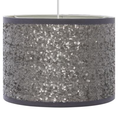 Sequin Light Shade   Silver