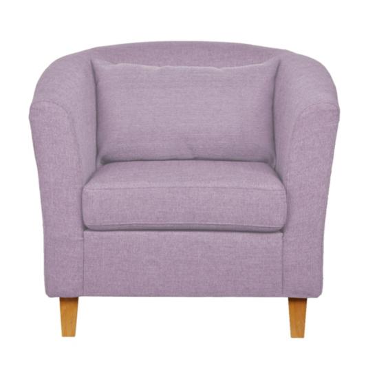 Tub Chair Mauve Sofas Amp Armchairs George At Asda