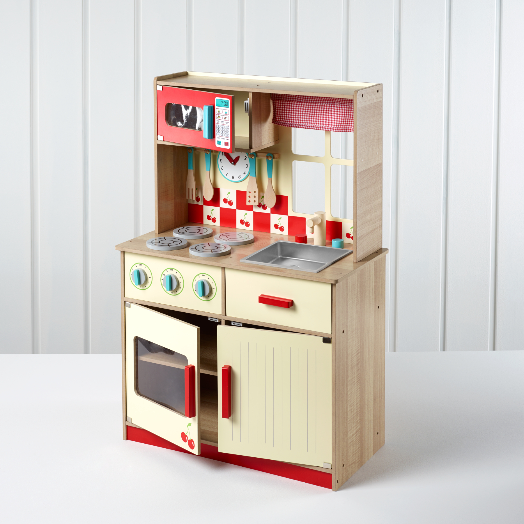 George Home Deluxe Wooden Kitchen Kids George At Asda