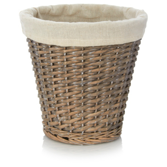 Wastepaper Basket Extraordinary George Home Willow Waste Paper Basket  Bins  George At Asda 2017