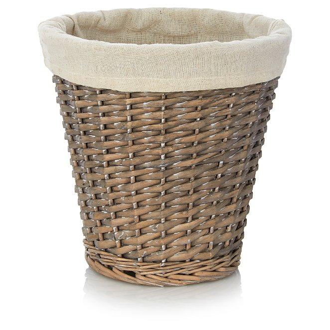 Willow Waste Paper Basket Reset