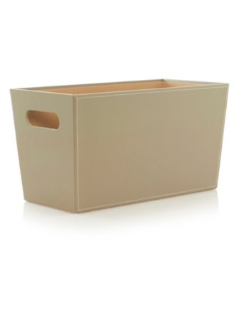 George Home Faux Leather Storage Range