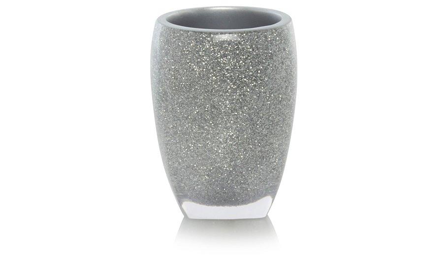 silver glitter bathroom accessories. Silver Glitter Acrylic Tumbler  Home Garden George at ASDA