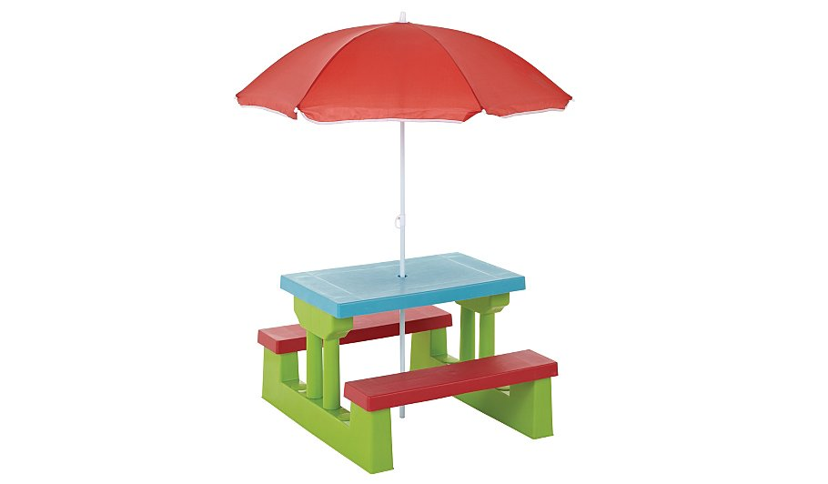. Kids Table   Bench Set   Home   Garden   George at ASDA