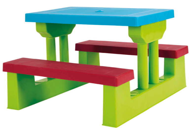 Kids Table Bench Set Home Garden George at ASDA