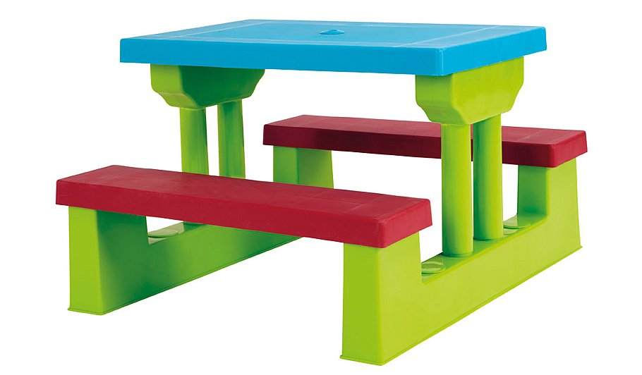 Double clicktap to zoom or select Image to load. Kids Table   Bench Set   Home   Garden   George at ASDA