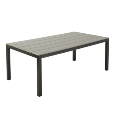 Grace Classic Dining Table Charcoal Grey Home Garden