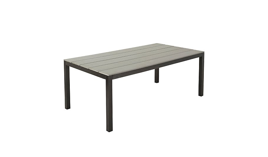 Grace Classic Dining Table   Charcoal   Grey   Home   Garden   George at  ASDA. Grace Classic Dining Table   Charcoal   Grey   Home   Garden