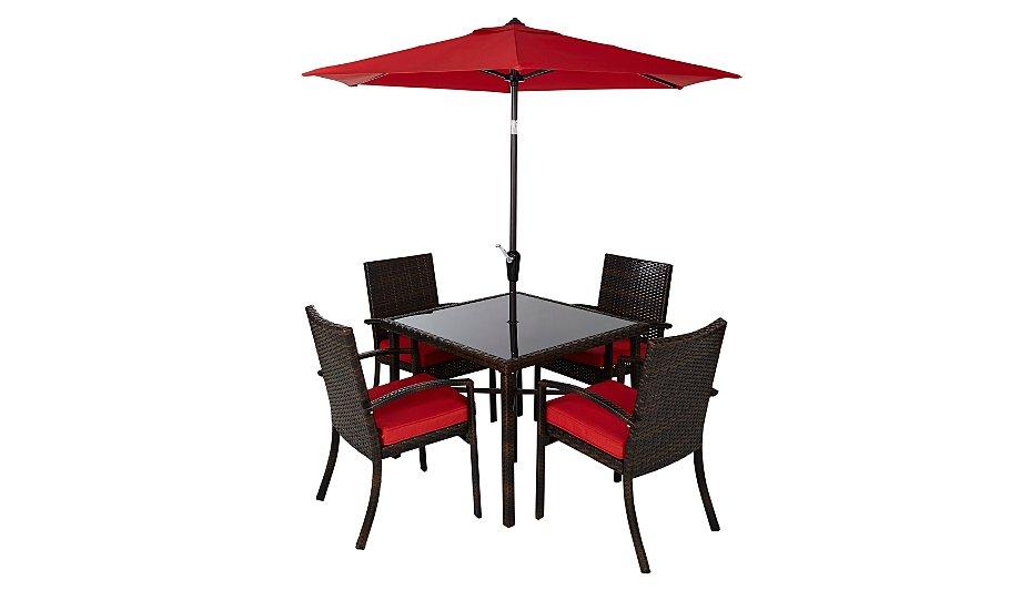 jakarta 6 piece patio dining set - Garden Furniture 6
