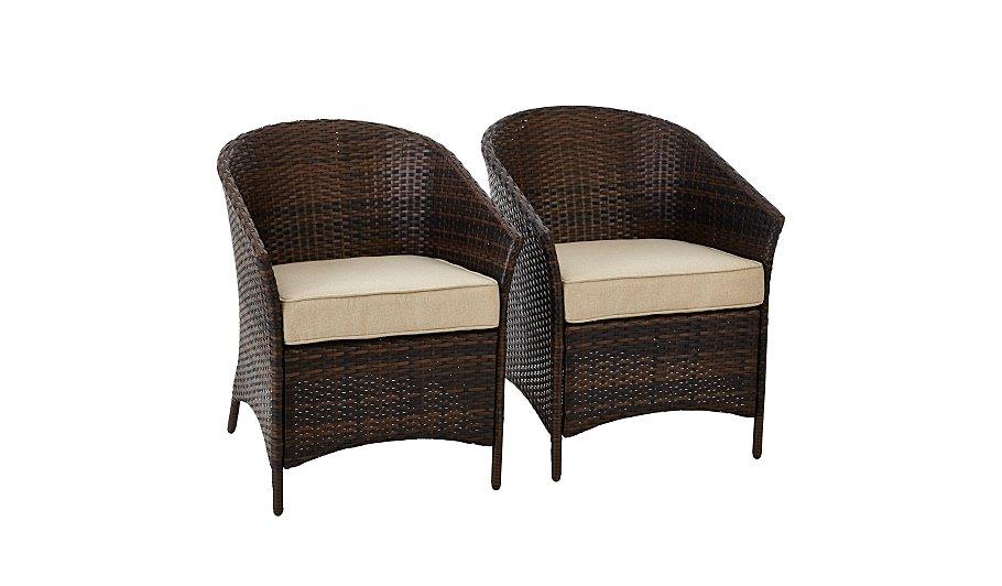 Jakarta 2 Classic Patio Tub Chairs   Garden Furniture ...