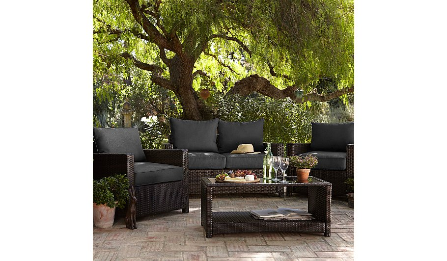 Jakarta 4 Piece Deluxe Conversation Sofa Set Home Garden George