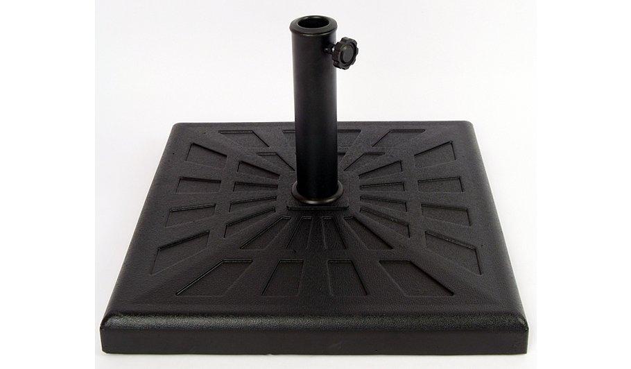parasol base 19kg home garden george at asda. Black Bedroom Furniture Sets. Home Design Ideas