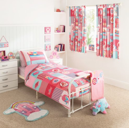 George Home Princess Patchwork Bedroom Range