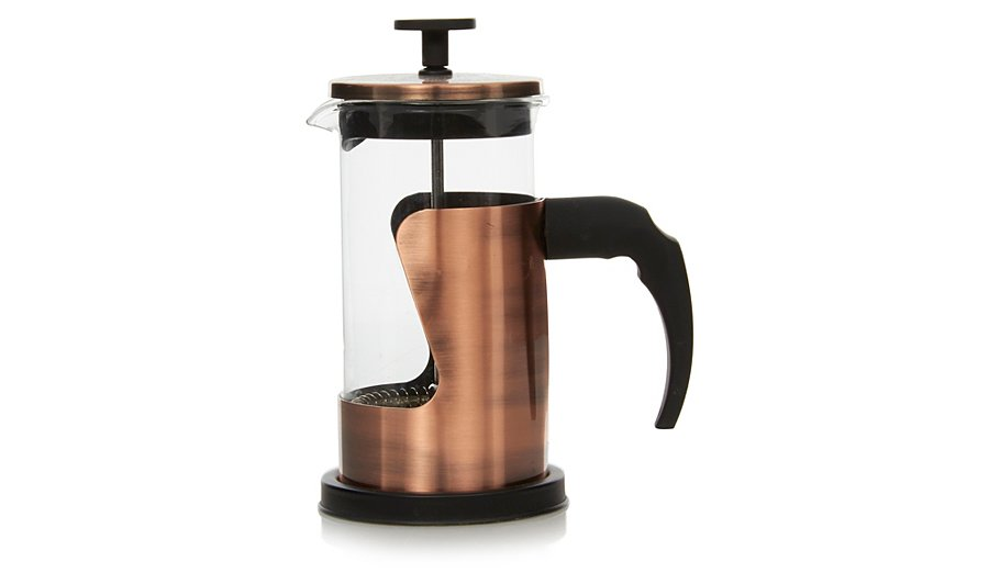 Copper Effect Cafetiere