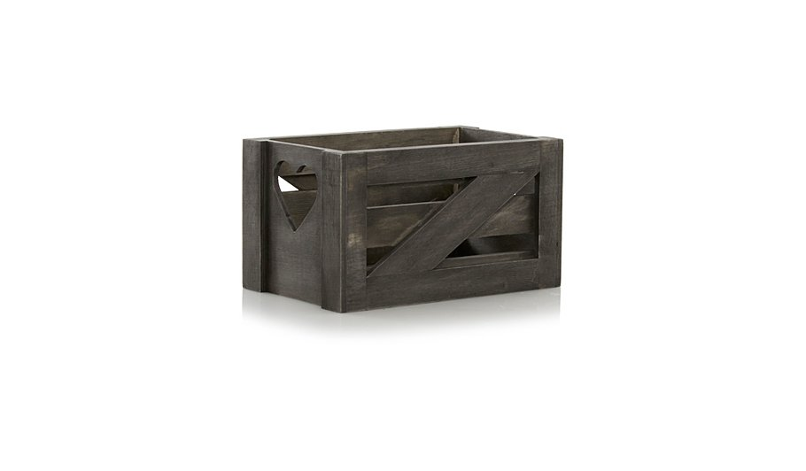 small black wooden crate - Small Wooden Crates