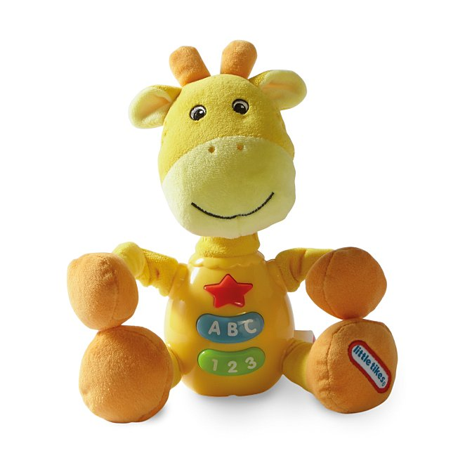 little tikes jungle buddy press n play giraffe toys character