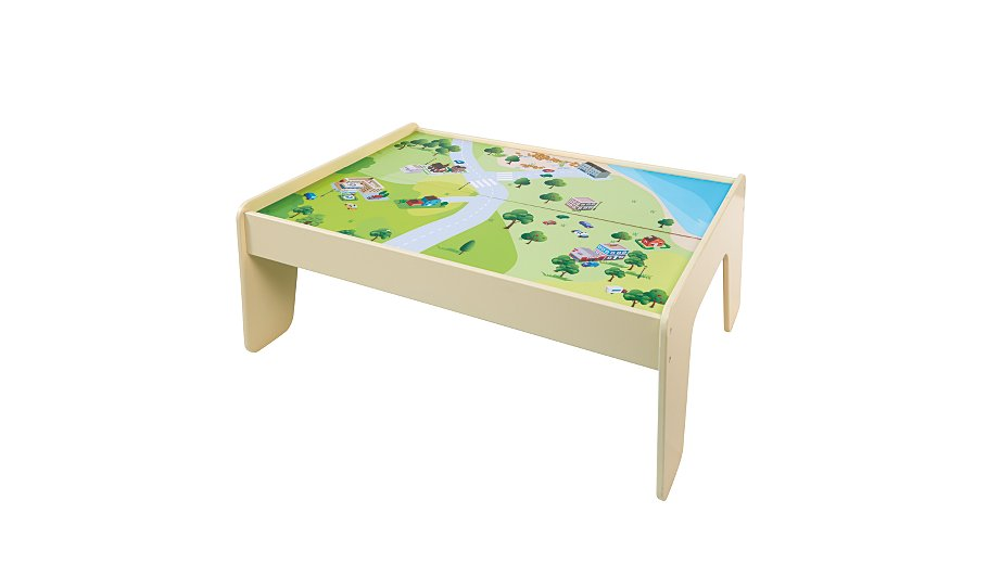 George home wooden play table kids george at asda for Baby letter table for sale
