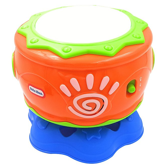 Little Tikes Musical Spin n Hit Drum  688515752