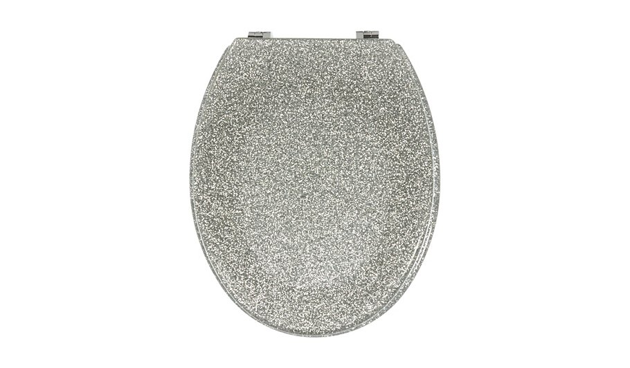gold foil toilet seat. Glitter Toilet Seat  Silver George Home Garden At